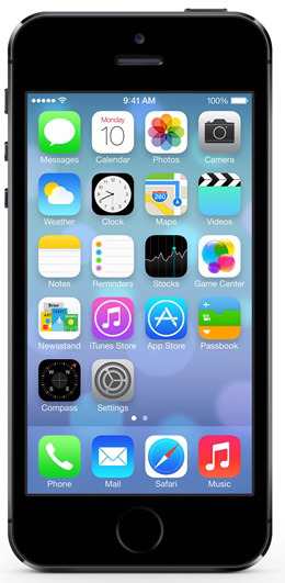 Apple iPhone 5S, 16 GB, vesmírně šedý