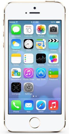 Apple iPhone 5S, 16GB, zlatý, refurbished s příslušenstvím - II. jakost