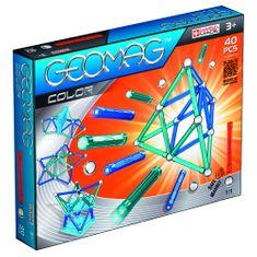 Geomag Színes mágneses építőjáték, 40 db