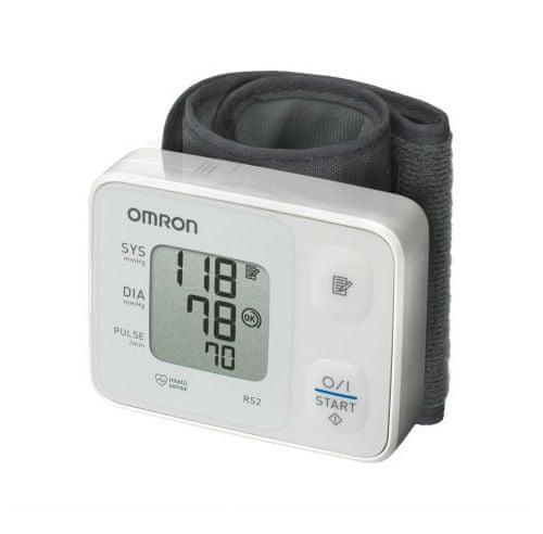 Omron Tonometr digitální RS2 na zápěstí - II. jakost