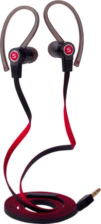SENCOR słuchawki SEP 185, czarny/czerwony