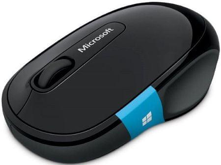 Microsoft Sculpt Comfort Mouse Vezeték nélküli egér, Fekete
