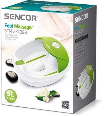 SENCOR masažna kad SFM 3720GR, zelena
