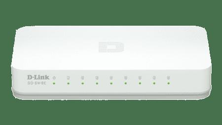 D-Link stikalo (switch) 8 portno (GO-SW-8E)