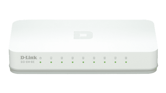 D-Link 8-Port Fast Ethernet Switch GO-SW-8E