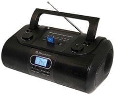 Roadstar RU-295/BK Hordozható rádió, Fekete