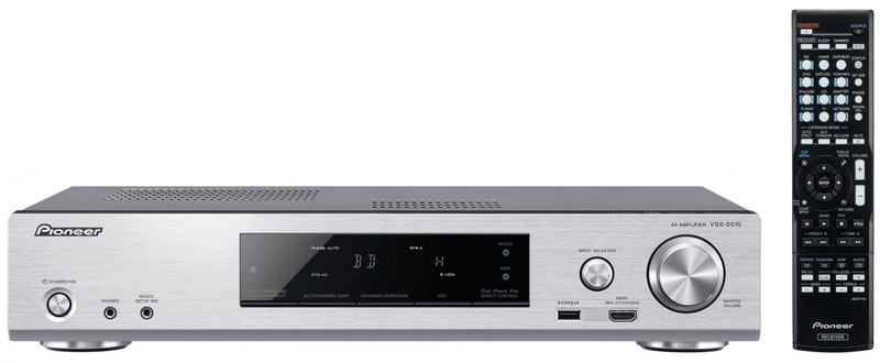 Pioneer VSX-S510-S (Silver)