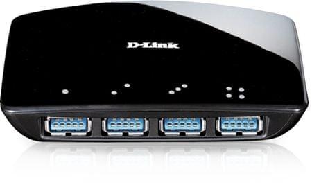 D-Link DUB-1340 4-Portový Superspeed USB 3.0 HUB