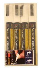 Securit set tekočih krednih pisal, barvna, srednji, 2-6 mm