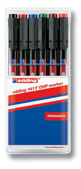 Edding Set marker OHP E-141, 0,6 mm, set 6