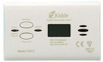 Kidde detektor ogljikovega monoksida 7DCO