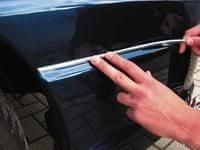 AutoStyle Krom trak U-profil, 5m