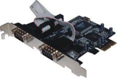 ST Lab PCI Express razširitvena kartica ST-Lab I-360 2 x serijska vrata