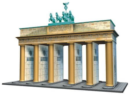 Ravensburger Sestavljanka, 3D, Brandenburška vrata, Berlin  324 XXL