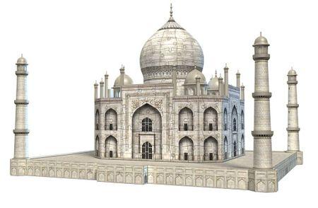 Ravensburger Sestavljanka, 3D, Taj Mahal, 216 delna XXL