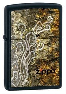 Zippo Vžigalnik Classic Scroll Black Matte Finish