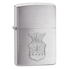 Zippo Vžigalnik Classic Air Force Crest Brushed Chrome