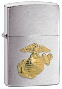 Zippo Vžigalnik Classic Marines Emblem Brushed Chrome 280MR