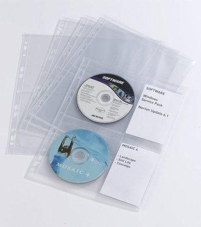 Durable Vložne mape za CD-album A4 (5238) 10 kom