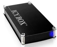 "IcyBox vanjsko aluminijsko kućište za tvrdi disk 3,5"" IB-351StU3-B SATA II, USB 3.0"