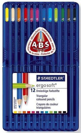 Staedtler barvice ergosoft ABS 12/1