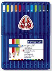 Staedtler Barvice ergosoft jumbo ABS 12/1