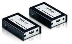 Aten Podaljšek HDMI z ojačevalnikom Line extender HDMI + IR RJ45-RJ45 VE810