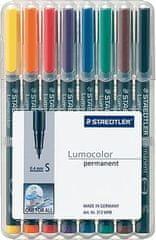 Staedtler Permanentni flomaster Lumocolor S 313, set 8