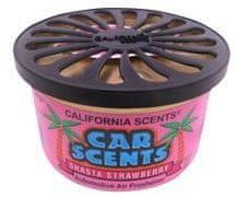 California Scents Dišava za avto Shasta Strawberry, jagoda