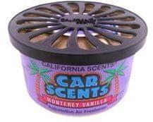 California Scents Dišava za avto Monterey Vanilla, vanilija