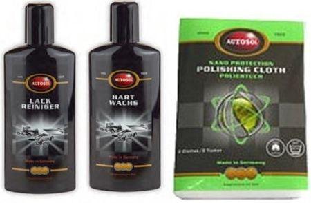 Autosol Set za poliranje laka Polish Shine
