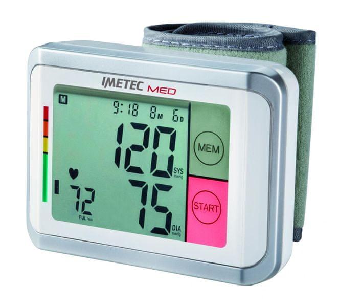 Imetec 5729 BP1 100 zápěsťový tlakoměr