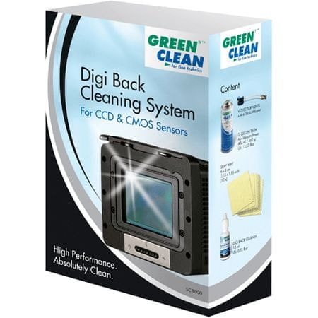 Green Clean Set za čiščenje SC-8000 Digi Back
