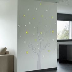 Crearreda Stenska dekorativna nalepka, drevo 3D