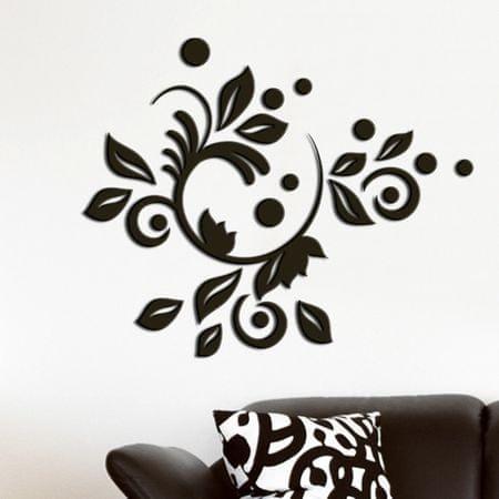 Crearreda Stenska dekorativna nalepka, romantični dekor 3D