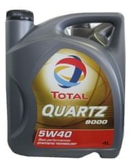 Total motorno olje Quartz 9000 5W-40, 4l