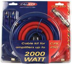 Caliber Komplet kablov za ojačevalnik CPK25D