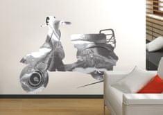 Crearreda Stenska dekorativna nalepka, skuter
