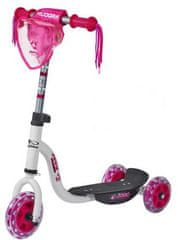 Hudora Skiro Joey Pinky 3.0, belo-roza
