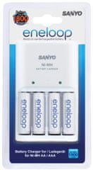 Sanyo polnilec MQN04-E-4-3UTGB ENELOOP + 4x AA min. 1900 mAh