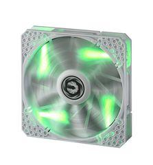 BitFenix Ventilator za ohišje Spectre PRO, 140 mm, belo-zelen