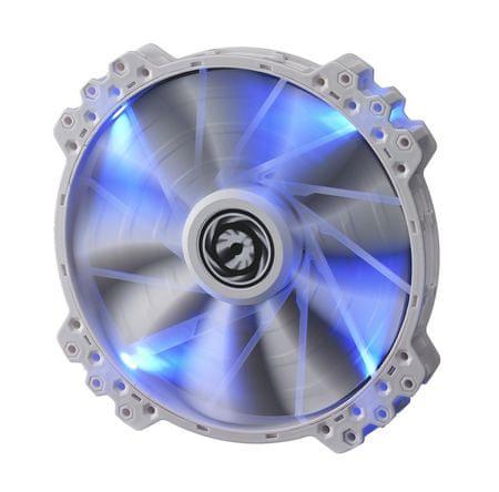 BitFenix Ventilator za ohišje Spectre PRO, 200 mm, belo-moder
