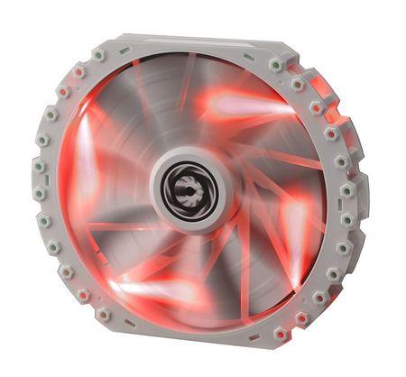 BitFenix Ventilator za ohišje Spectre PRO, 230 mm, belo-rdeč