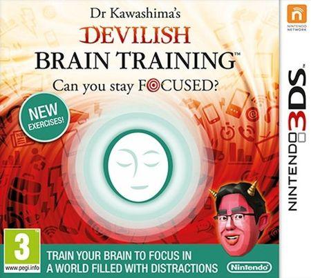 Nintendo igra Dr. Kawashima's Devilish Brain Training (3DS)