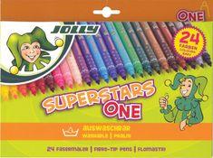 Jolly Flomastri SuperStar 24/1, kartonska embalaža