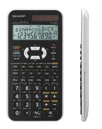 Sharp Tehnični kalkulator EL-506XWH, bel