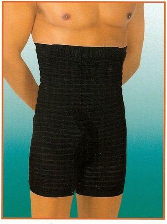 Texenergy Moške hlače za izoblikovanje postave Boxer Črna M
