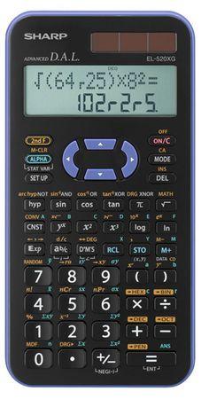 Sharp Tehnični kalkulator EL-520XGVL, viola