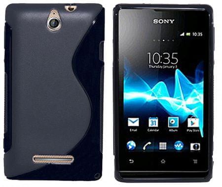Silikon Case Ovitek za Sony Xperia E (C1605), črn