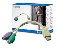 LogiLink Adapter iz USB na 2x PS/2 AU0004A